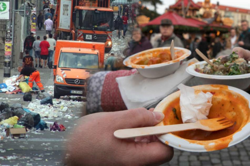 Dresdens Partymüll: So will das Rathaus die Stadt wieder sauber machen