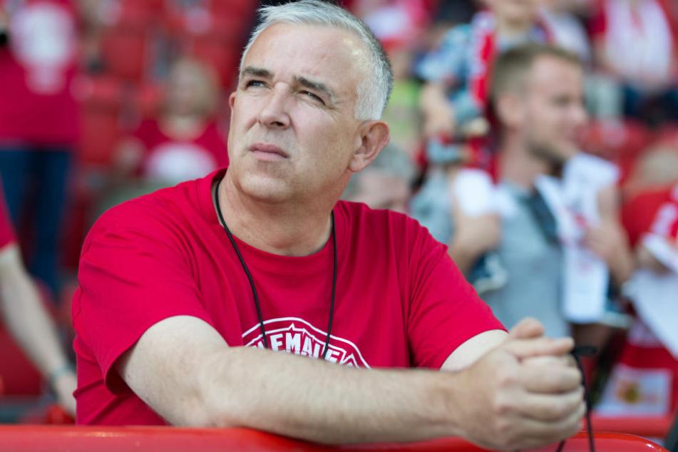 Union-Präsident Dirk Zingler will schnellstmöglich in die Bundesliga aufsteigen.