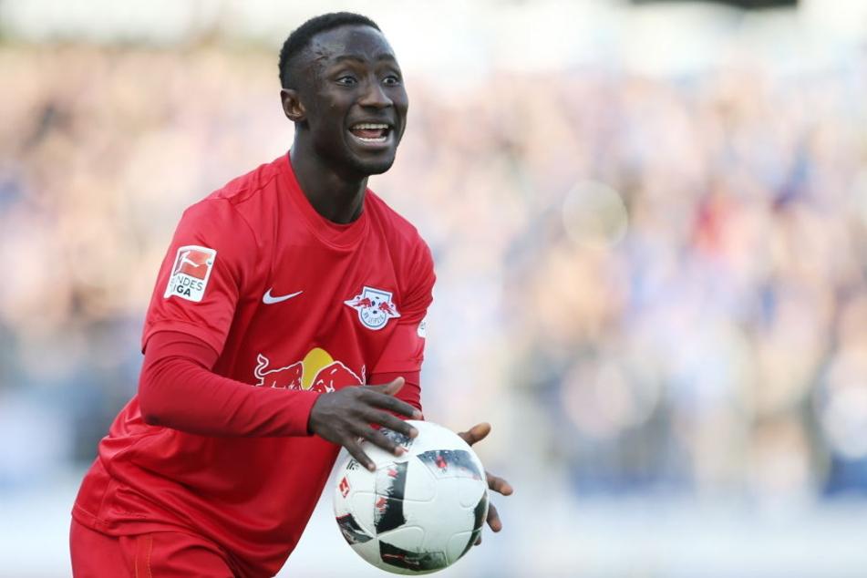 An eine neue Trikotfarbe müsste sich der Mann aus Guinea beim FC Liverpool nicht gewöhnen.