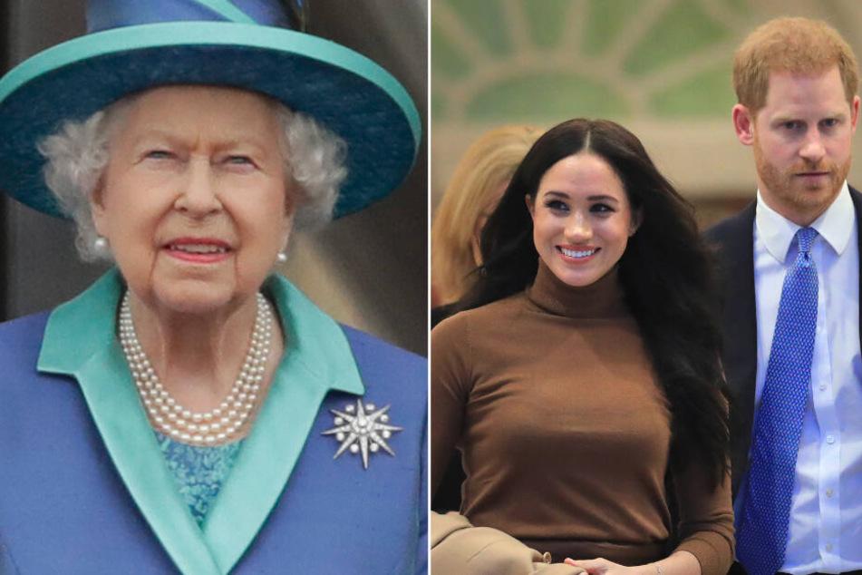 """Strich durch die Rechnung: Queen verbietet Harry und Meghan """"Sussex Royal"""""""