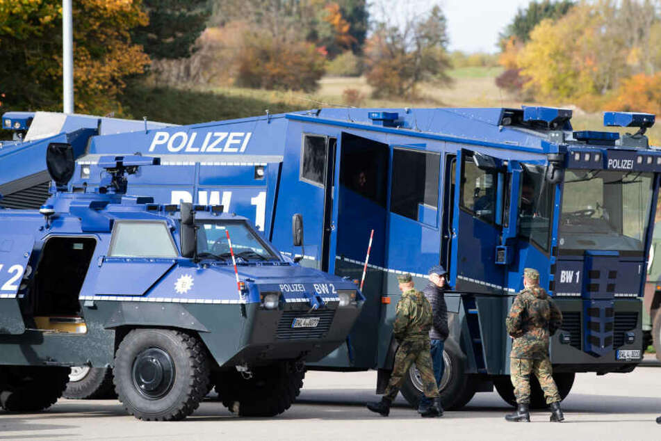 Polizei kommt mit Wasserwerfern zu VfB-Derby gegen KSC