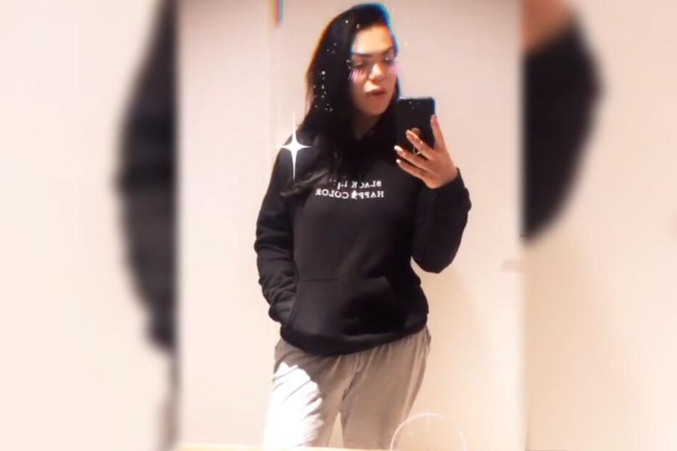 Am Samstag trat die 31-jährige Koblenzerin jedoch im Schlabber-Look vor die Kamera ihres Smartphones.