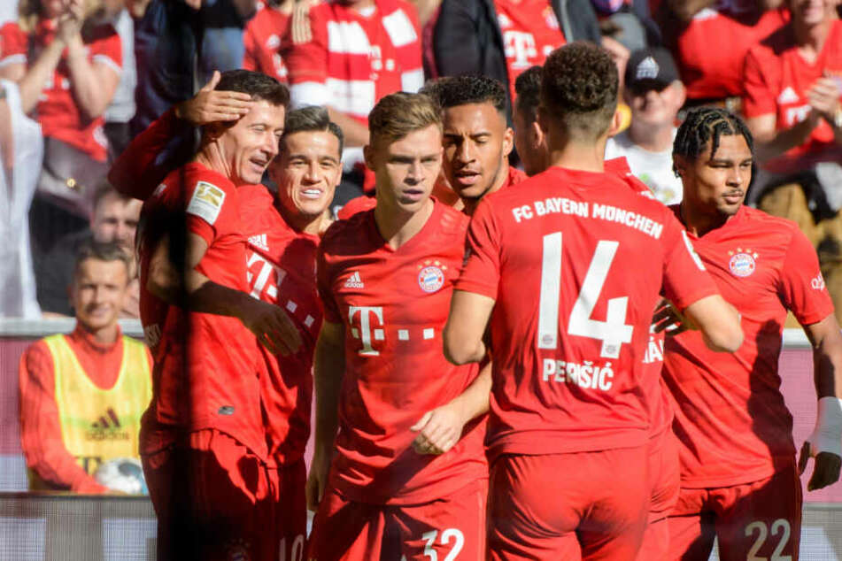 Der FC Bayern hat sein Heimspiel gegen den 1. FC Köln überzeugend gewonnen.
