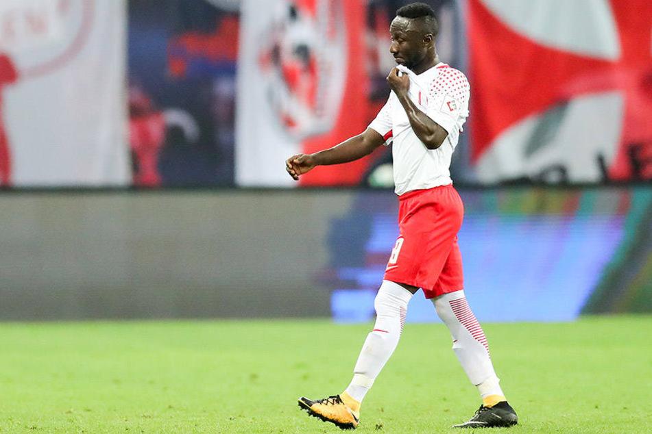 Naby Keita (22) wurde am Montag für drei Spiele gesperrt.