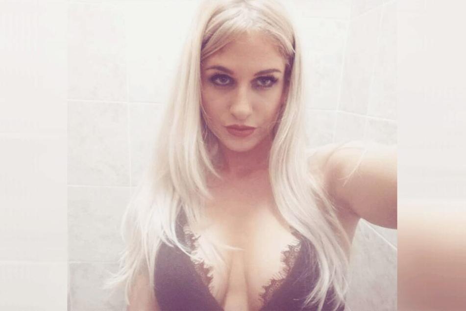 Laurie Jade Woodruff (30) auf einem Facebook-Selfie.
