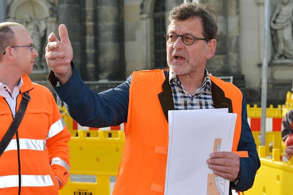 Seine Behörde lehnte den Info-Stand der Ärzte ab: Straßenbauamtsleiter Reinhard Koettnitz (62).