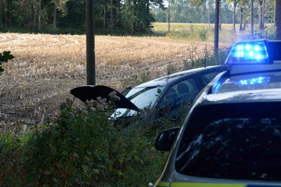 Einen Führerschein konnte der Fahrer den Polizisten nicht vorzeigen.