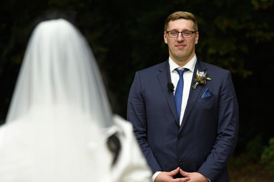"""Rico Rudolph (36) kann heute bei """"Hochzeit auf den ersten Blick"""" seiner  unbekannten Braut das """"Ja""""-Wort geben."""