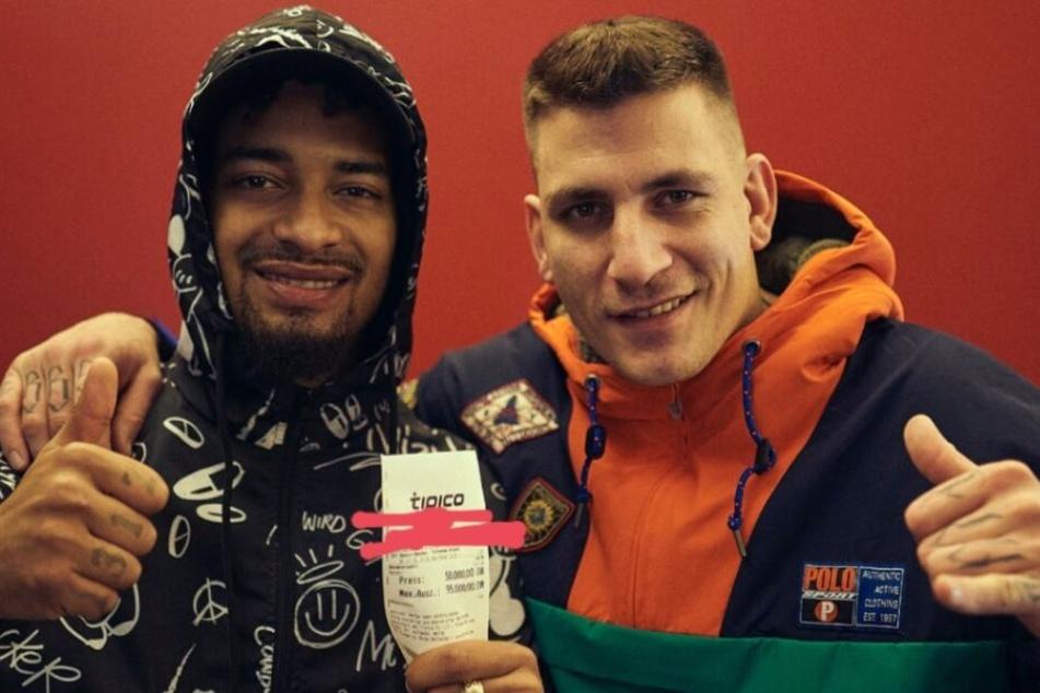 187 Strassenbande: Maxwell und Gzuz setzen 50.000 Euro auf Fußballspiel