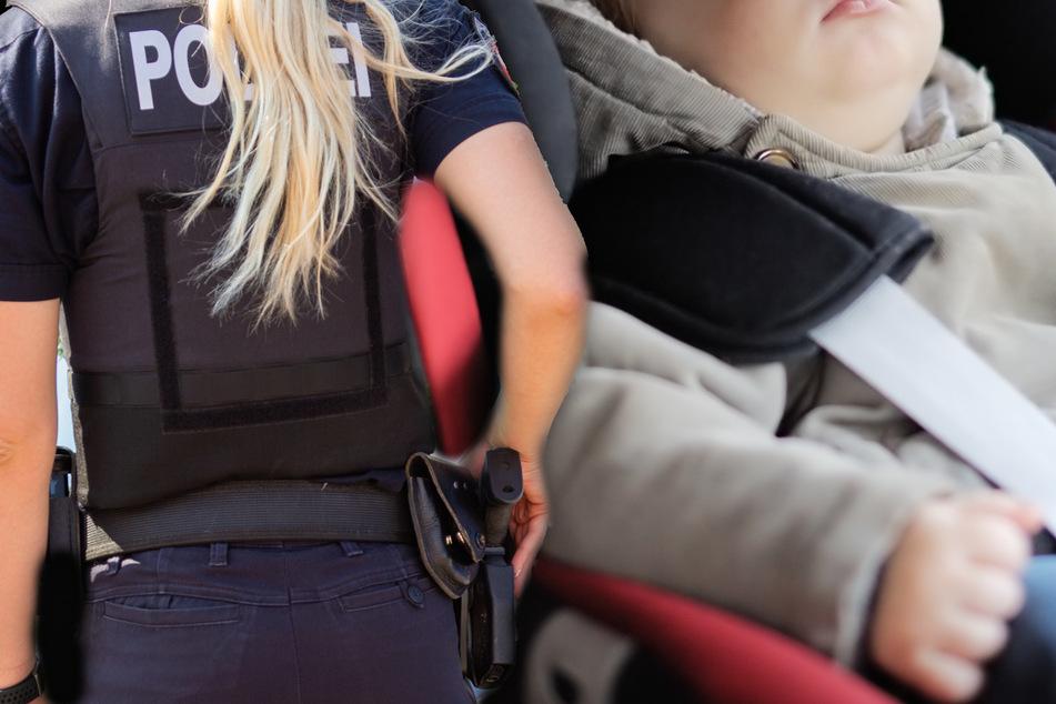Mutter gibt Kleinkind (1) Autoschlüssel zum Spielen, dann muss die Polizei anrücken