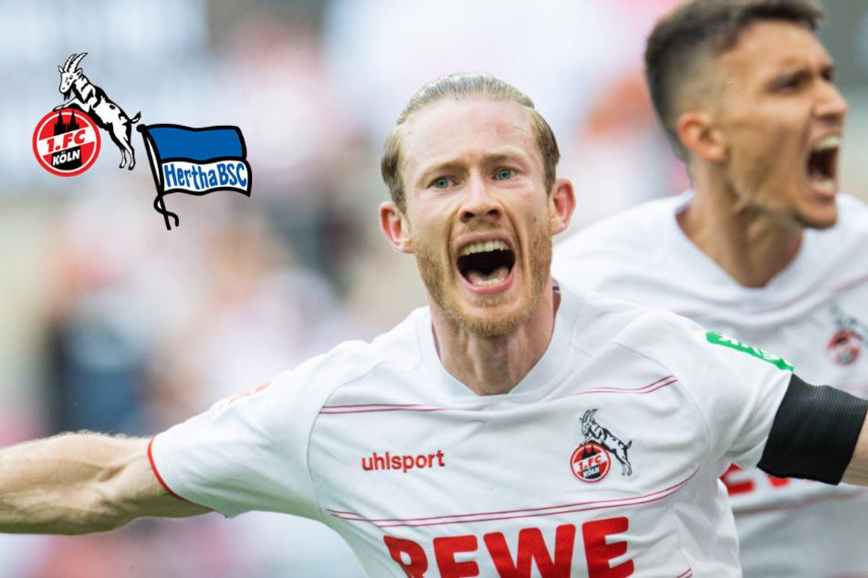Kainz macht den Unterschied! Köln dreht Rückstand gegen Hertha BSC