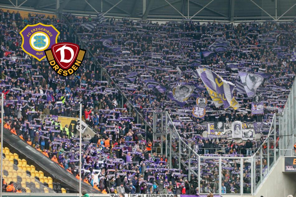 Dynamo Dresden gegen Erzgebirge Aue: Corona-Infizierte bei Sachsenderby dabei!