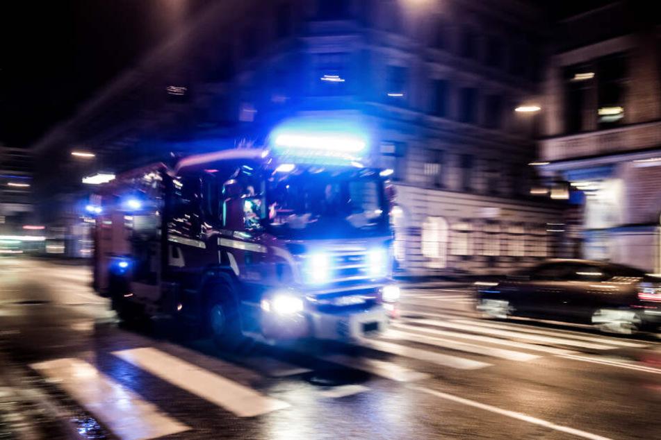 Feuerwehr löscht Hochhaus-Brand und macht Horror-Fund