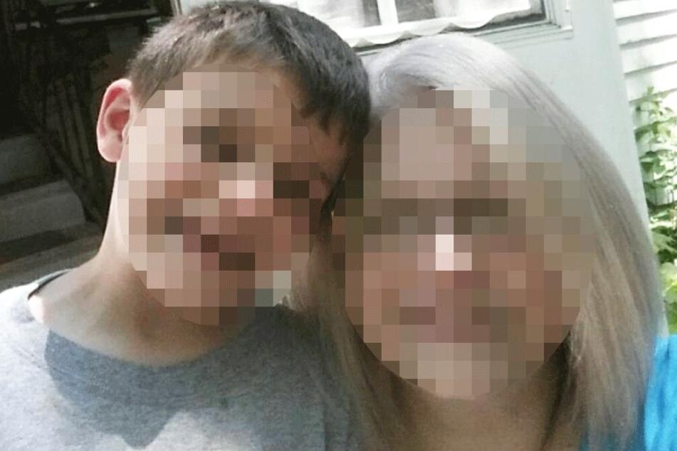 Pauline R. (†51) mit ihrem Sohn (9) auf einem Facebook-Pic.