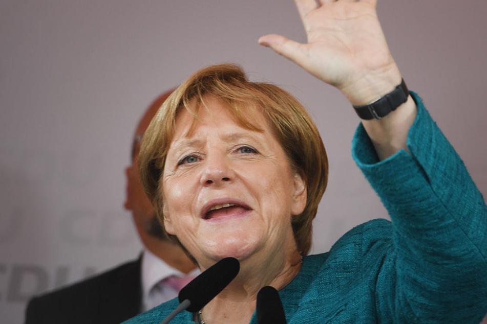 Angela Merkel kommt in die nordsächsische Stadt an der Elbe.