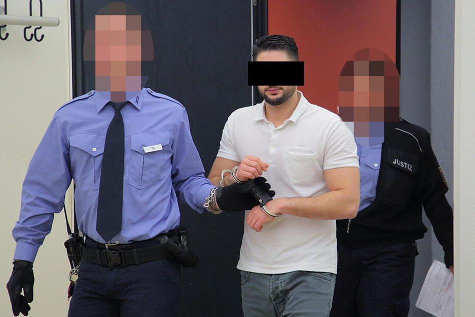 Kein Dolce Vita in Sachsen: Eisverkäufer Giancarlo A. (29) muss für lange Zeit hinter Gitter.