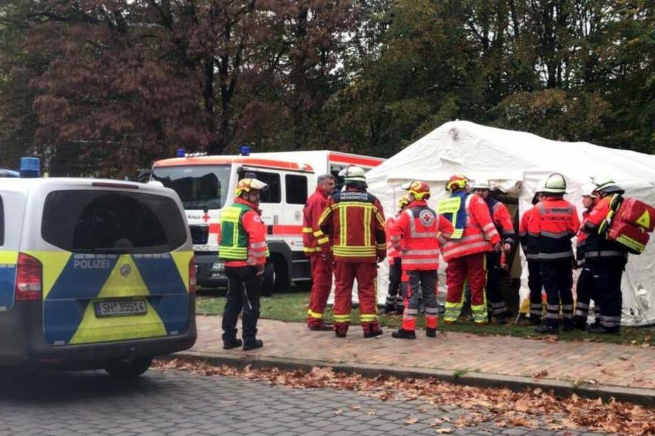 Deo mit Reizgas verwechselt: 50 Menschen in Schule verletzt