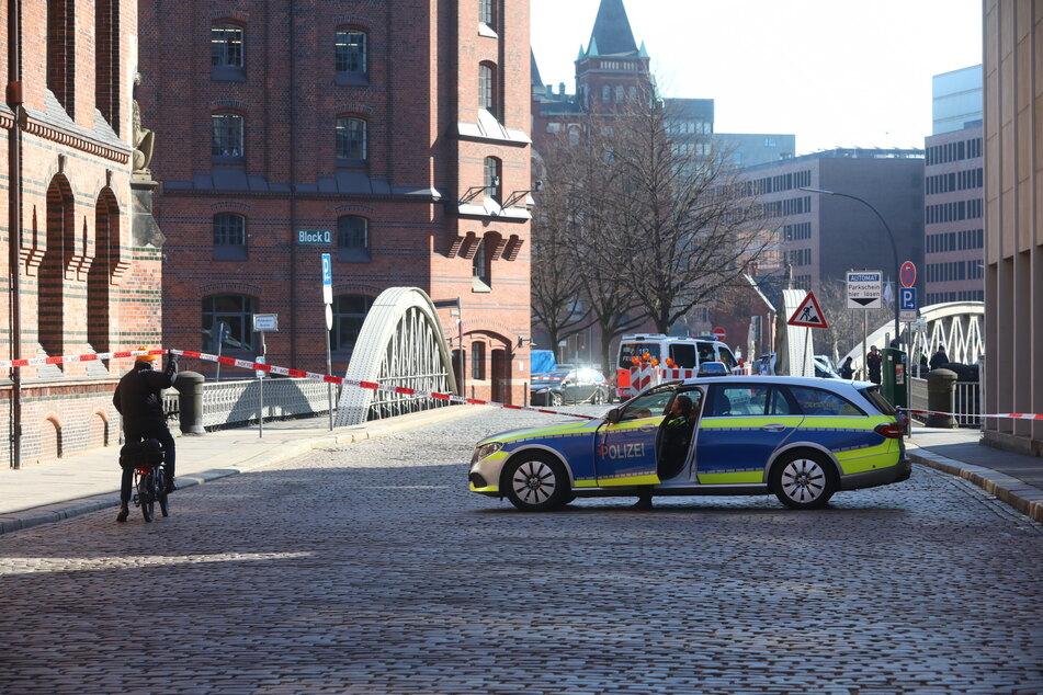 Bombe in Hamburg gefunden: Speicherstadt gesperrt