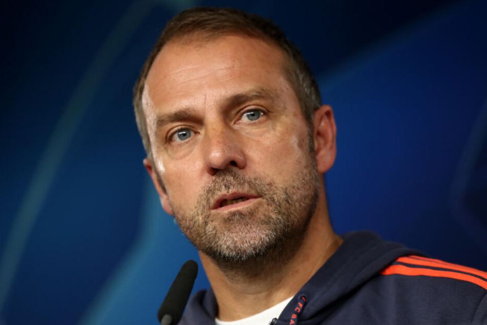 Bayerns Interimstrainer Hansi Flick erwartet den BVB am kommenden Samstag in der Allianz Arena.