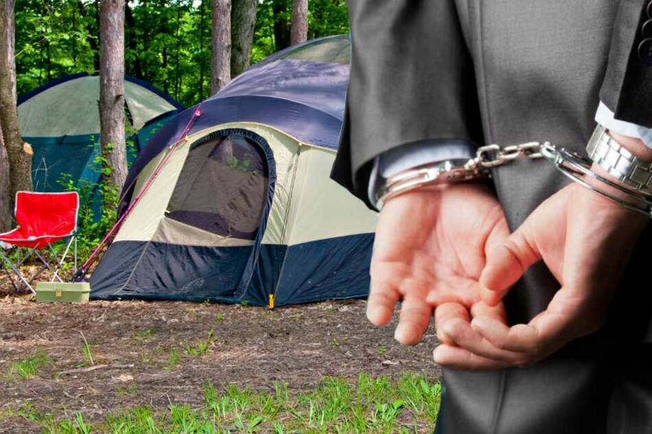 Nach der Überschwemmung eines Zeltlagers in Südfrankreich befinden sich zwei Tatverdächtige in Gewahrsam (Symbolbild).