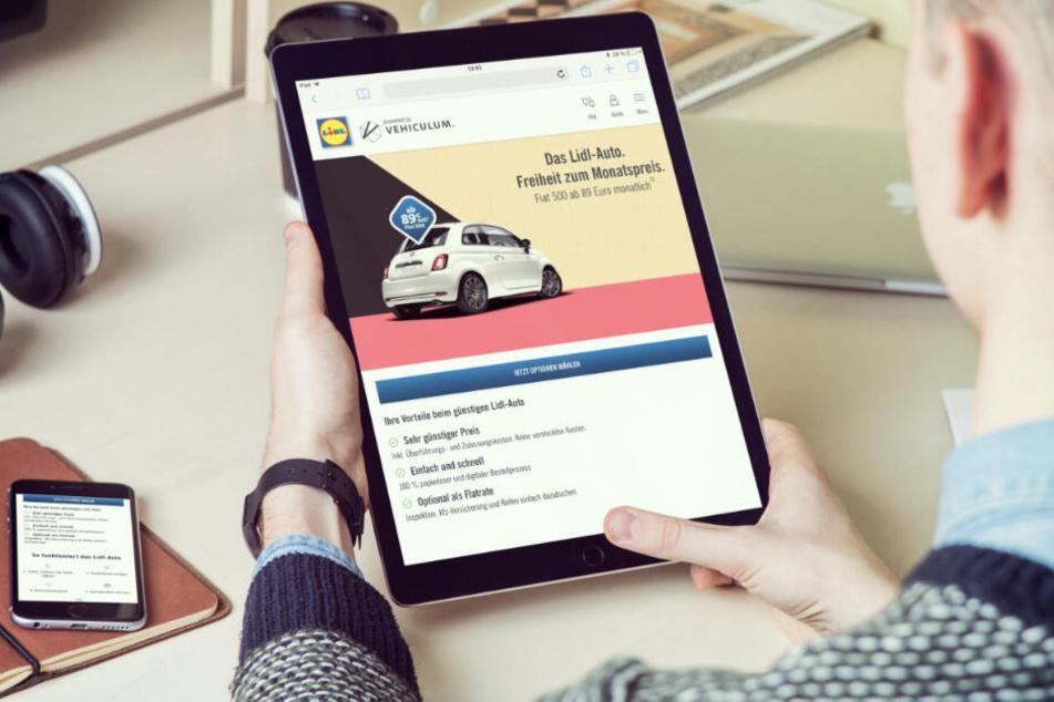 Bei Billig-Discounter Lidl kann man jetzt Autos leasen