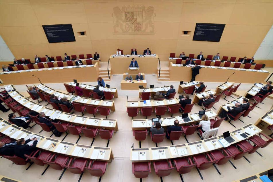 Der Landtag in München: Am Mittwoch steht eine Gedenkveranstaltung für die Opfer der Nazi-Terrorherrschaft auf dem Plan. (Archivbild)