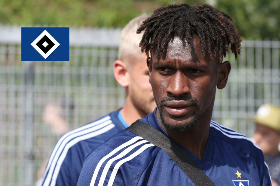 HSV nimmt zum Pokalspiel gegen Chemnitz Jatta mit