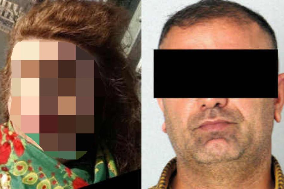 Saray G. (l.) wird immer noch gesucht. Hareddin T. wurde in Colmar festgenommen.