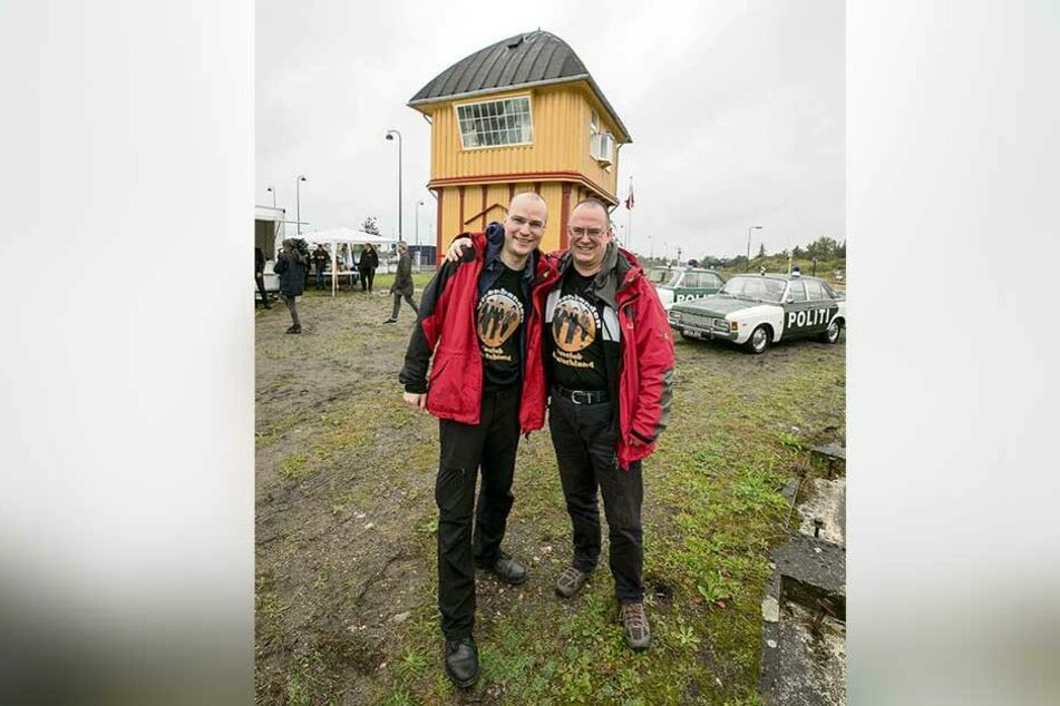 Die Stellwerk-Retter laden heute zur Filmpremiere: Paul Wenzel (32, l.) und Steffen Paatz.