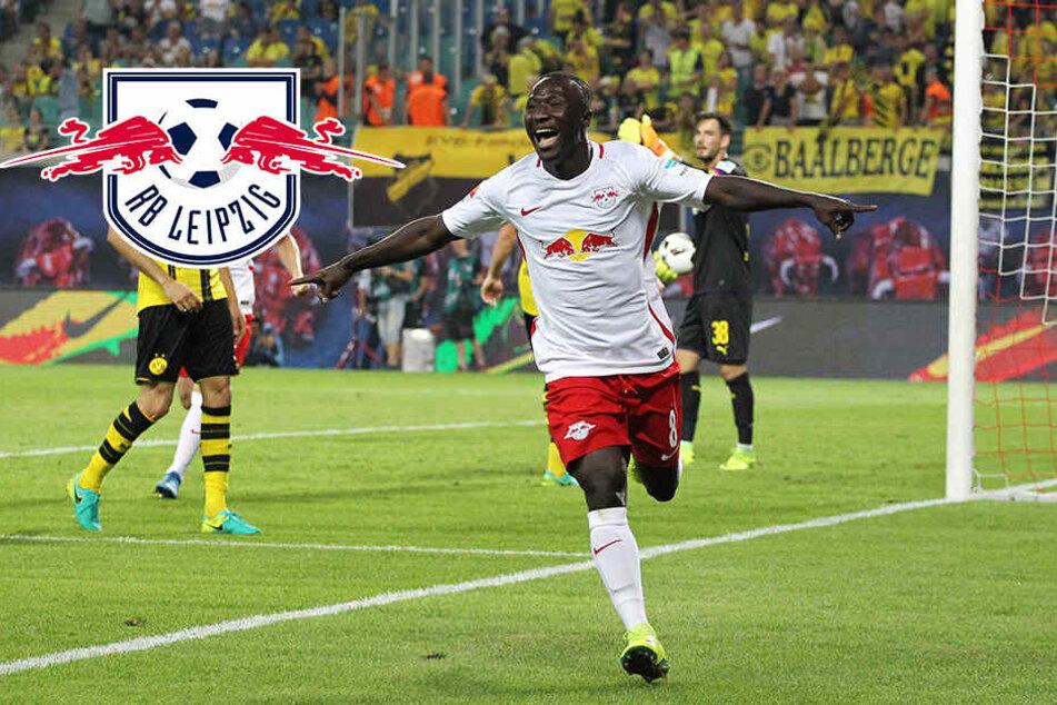 Joker Keita schießt RB zum Sensationssieg gegen BVB