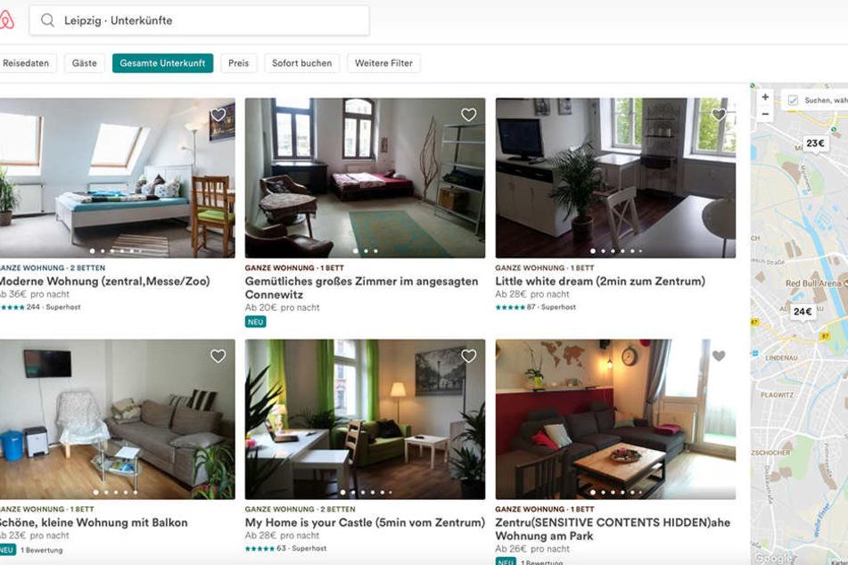 Wer seine Wohnung auf Airbnb gewerblich anbietet, muss mit einer Abmahnung seines Vermieters rechnen.