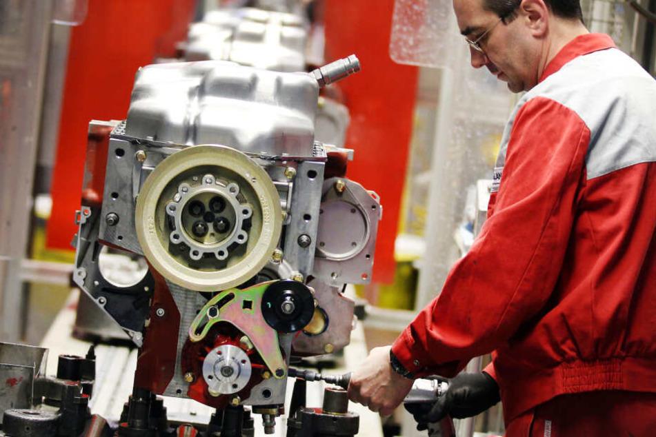 Ein Blick ins Motorenwerk Deutz in Köln. (Aufnahme aus dem Jahr 2012)