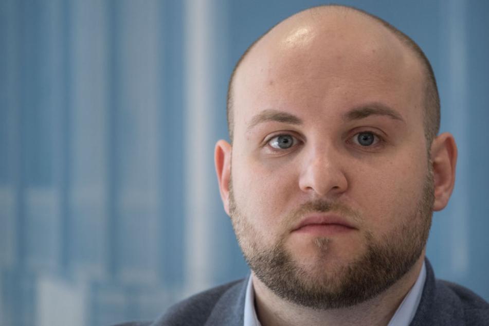"""Soll Mitglied bei der """"German Defence League"""" gewesen sein, die vom Verfassungsschutz beobachtet wird: Markus Frohnmaier."""