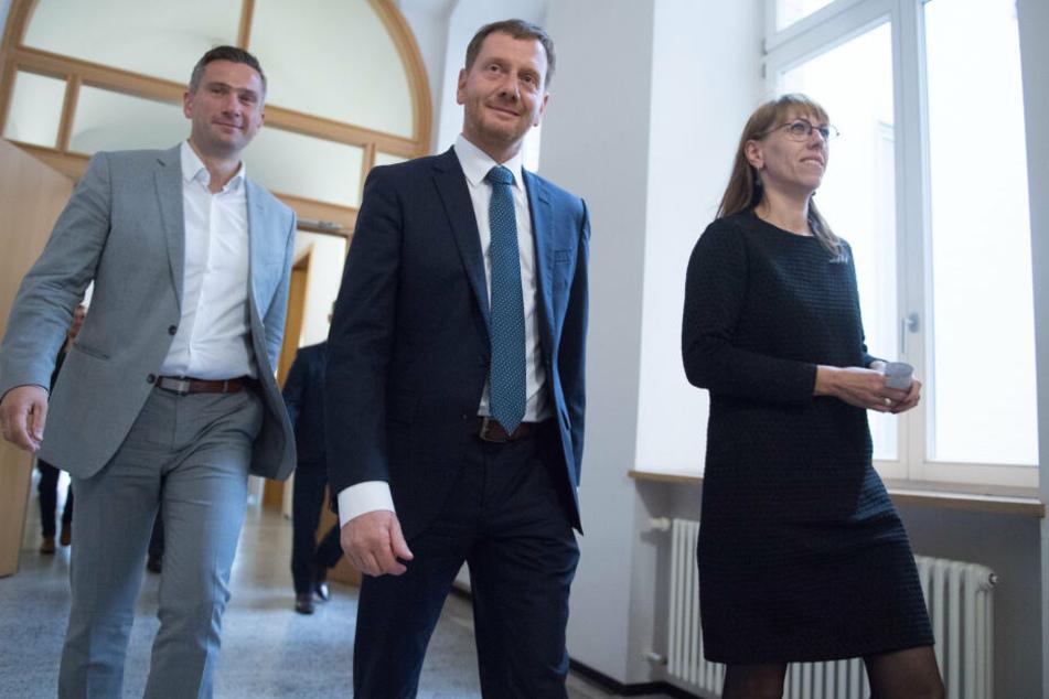 """Zu viele Widersprüche: Sächsische Regierung vertagt """"Kenia"""""""
