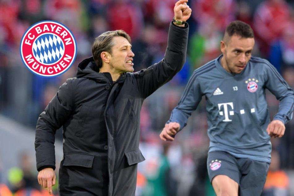 FC Bayern: Kovac watscht Rafinha ab und macht klare Ansage