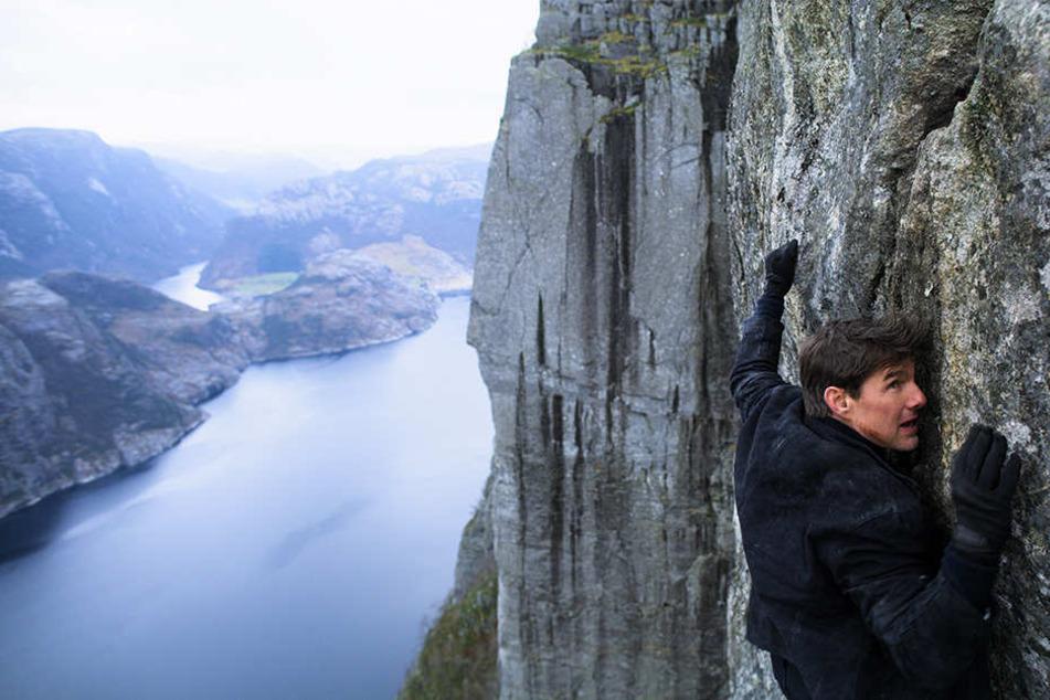 Tom Cruise ist dafür bekannt, seine Stunts selbst durchzuführen. So auch hier.