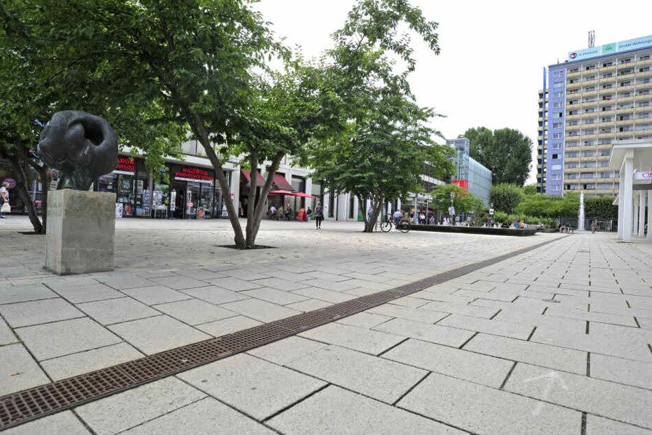 Im Rosenhof in Chemnitz ereignete sich die Attacke.