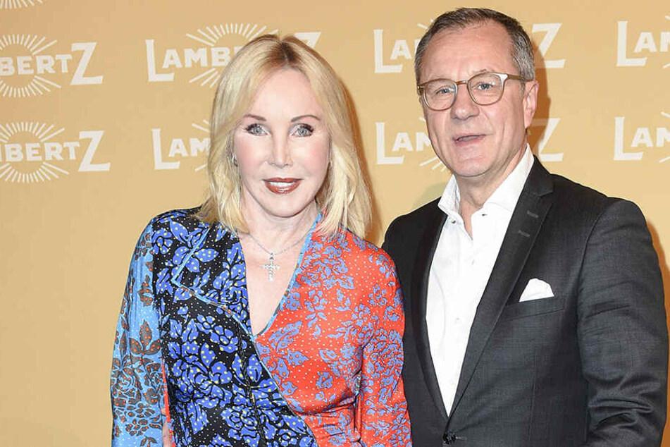 Heike Maurer mit ihrem Noch-Ehemann Ralf Immel.
