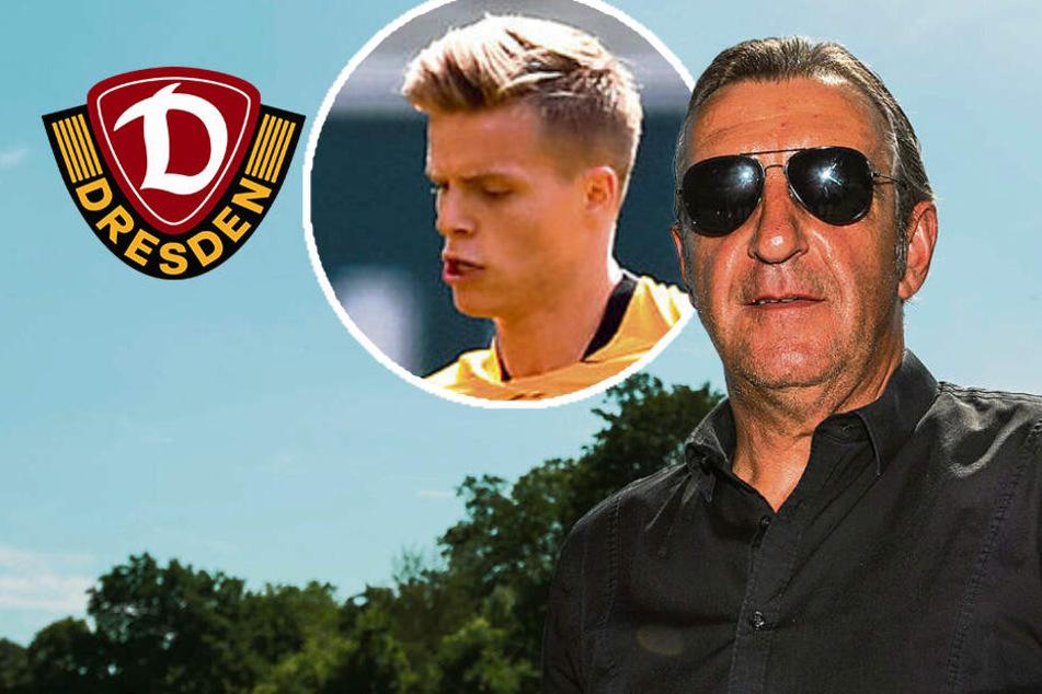 Dynamos Minge kämpft um Burnic und macht zu Thema Kutschke eine klare Ansage