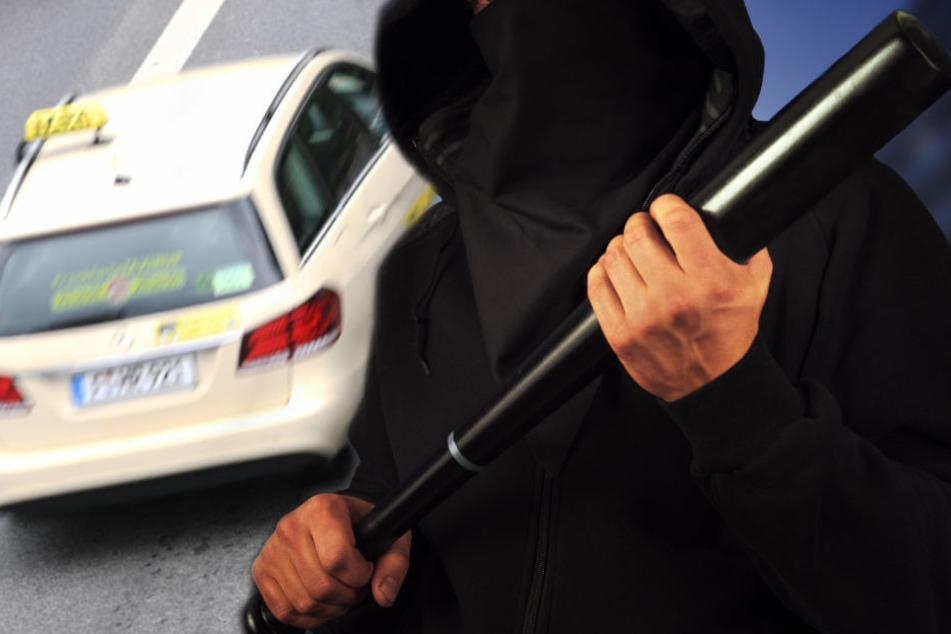 """""""Bist du AfD-Mitglied?"""": Vermummte greifen Taxi-Fahrgäste mit Baseballschlägern an"""