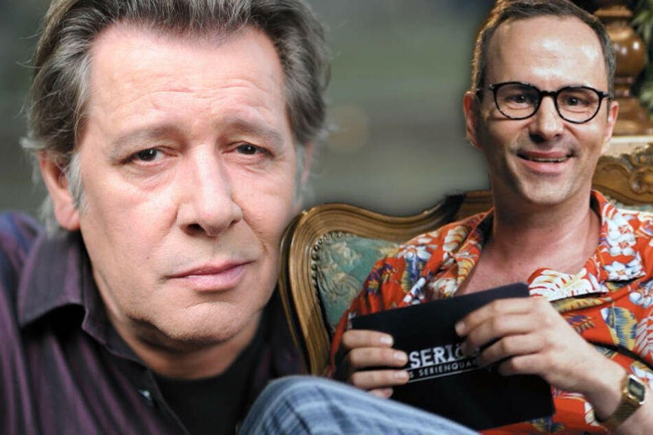 Kurt Krömer (r.) gedenkt Jan Fedder. (Bildmontage)