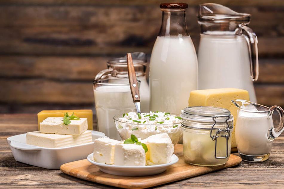 Die Deutschen lieben Milchprodukte jeder Art.