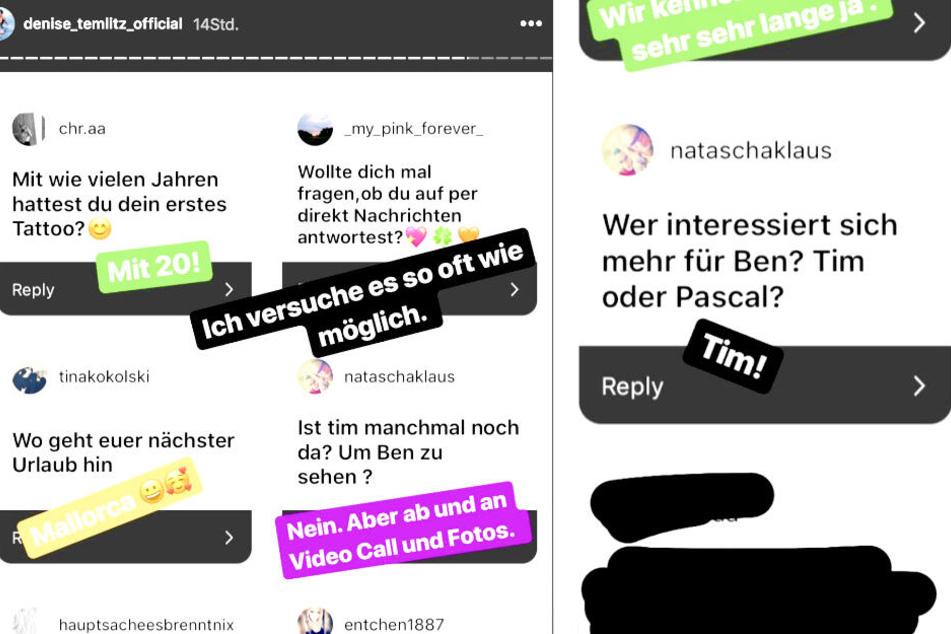 In einer Instagram-Story verrät die Berlinerin, welcher Ex sich mehr um Söhnchen Ben-Matteo sorgt.