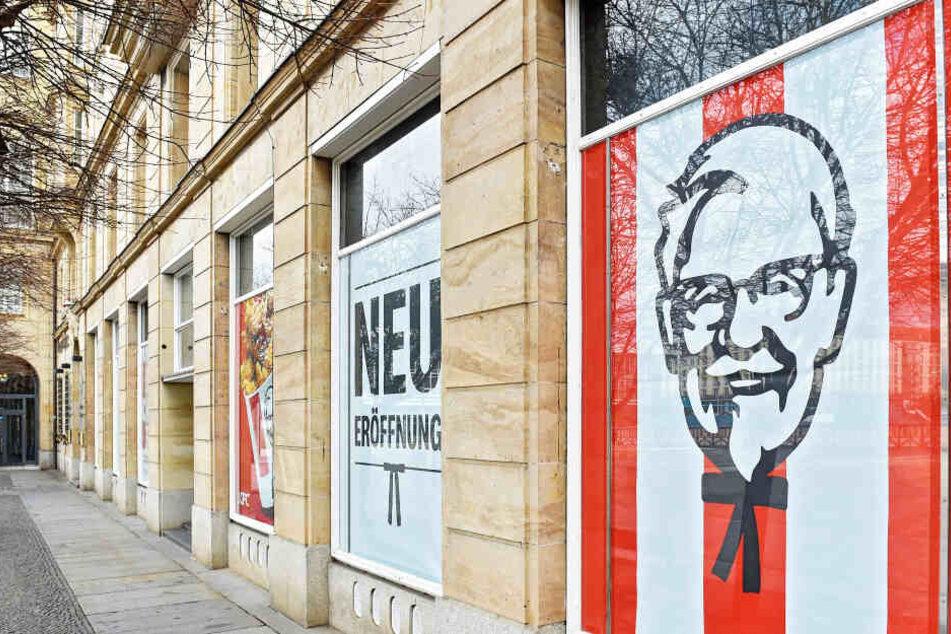 """Wann das """"Kentucky Fried Chicken"""" öffnet, will die Foodkette (noch) nicht verraten."""
