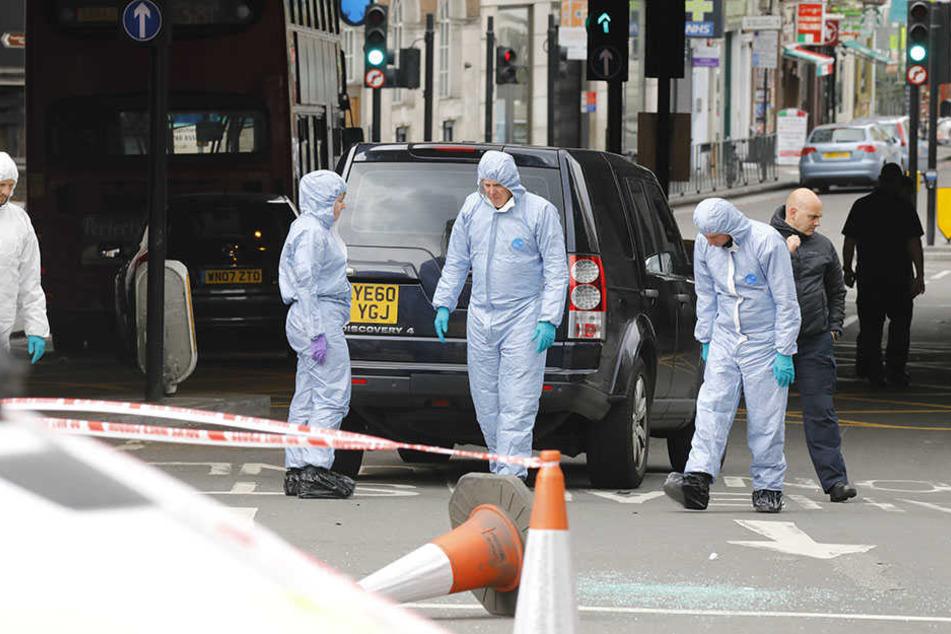 Spurensuche nach dem Londoner Terrorangriff um den Borough Market.