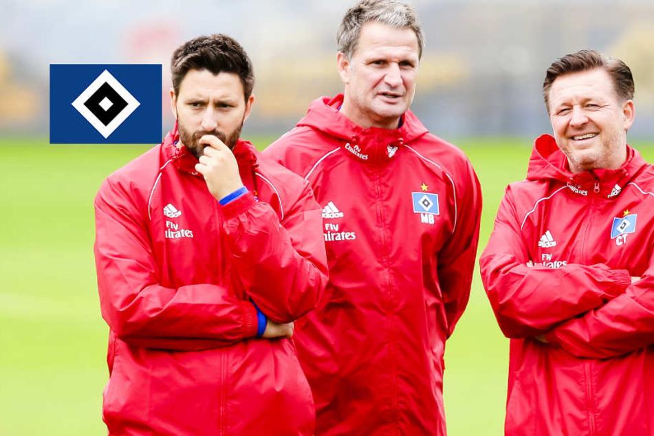 So verlief das erste Zweitliga-Training des HSV