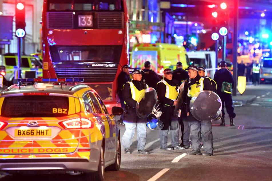 Sieben Tote und mindestens 50 Verletzte forderte der Anschlag am Sonnabend.