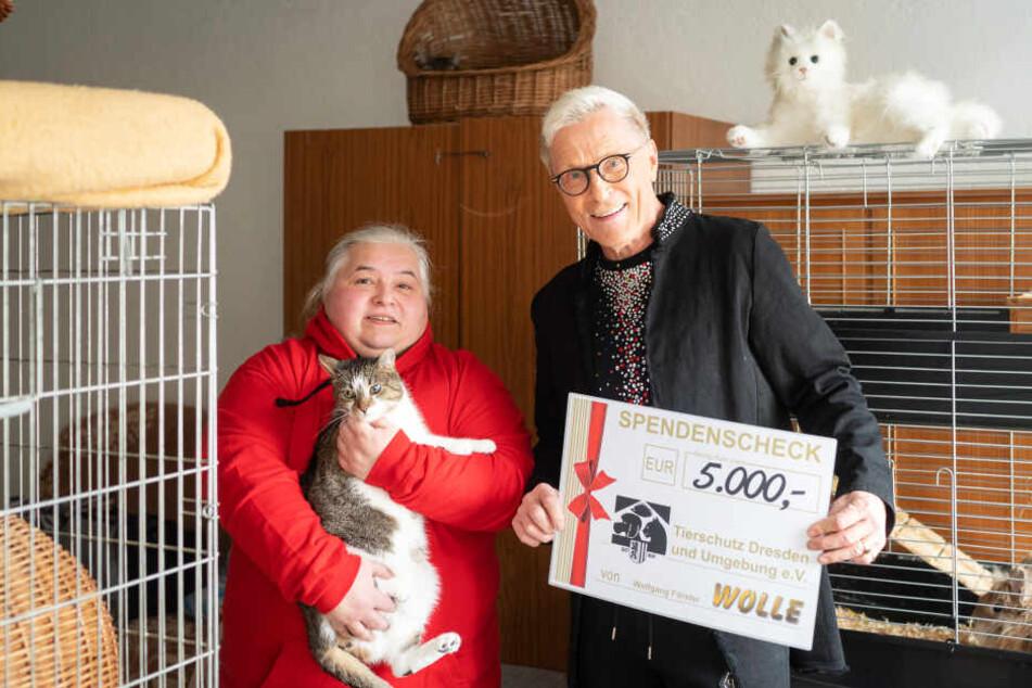 Dresden: Nachtbarkönig Wolle rettet Tierschützer mit 5000 Euro!