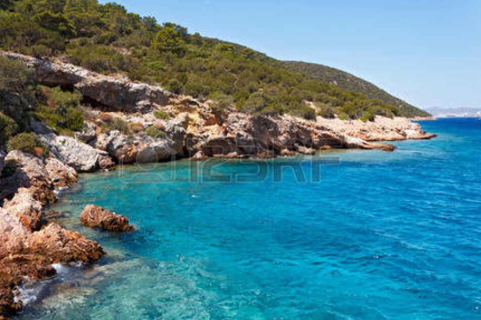 Traumhaft schön ist das Wasser an der türkischen Ägäis. Hier: Nähe Bodrum. (Symbolbild)