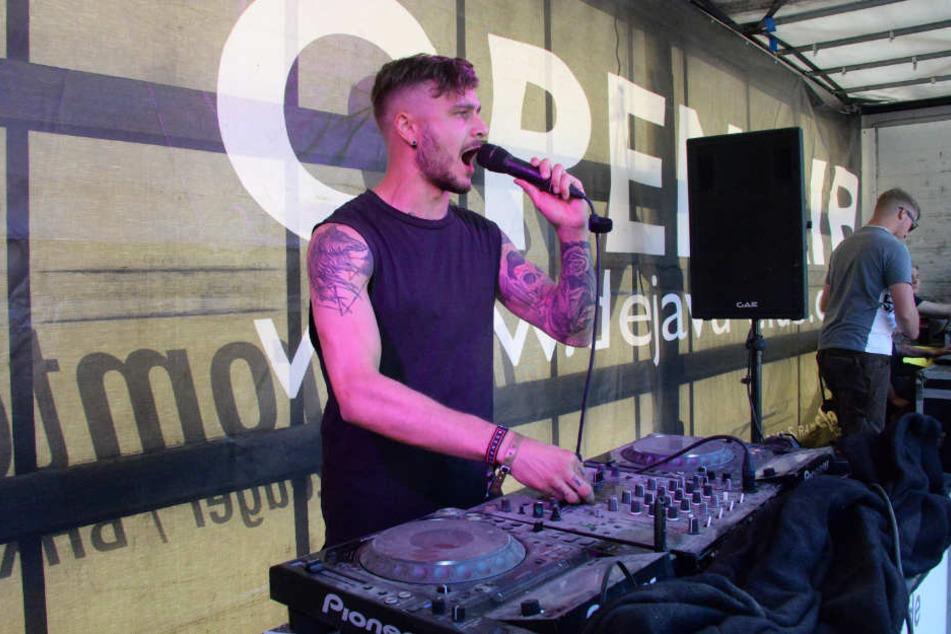 Insgesamt sieben DJs gaben ihre Electro-Sets zum Besten.